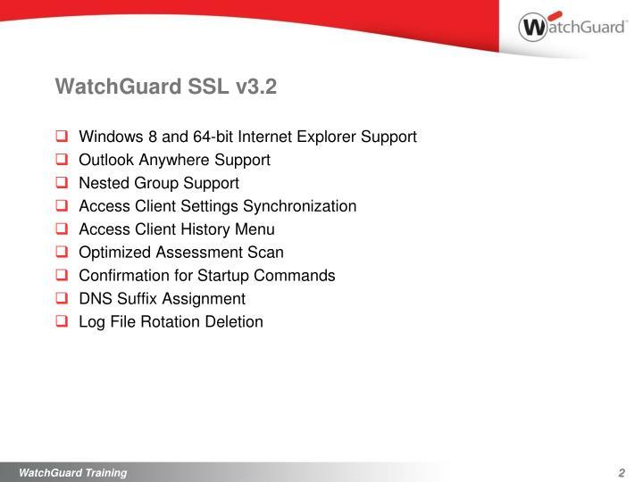 WatchGuard SSL