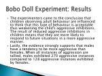 bobo doll experiment results3