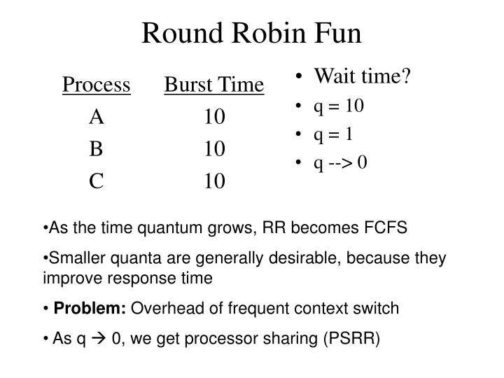 Round Robin Fun