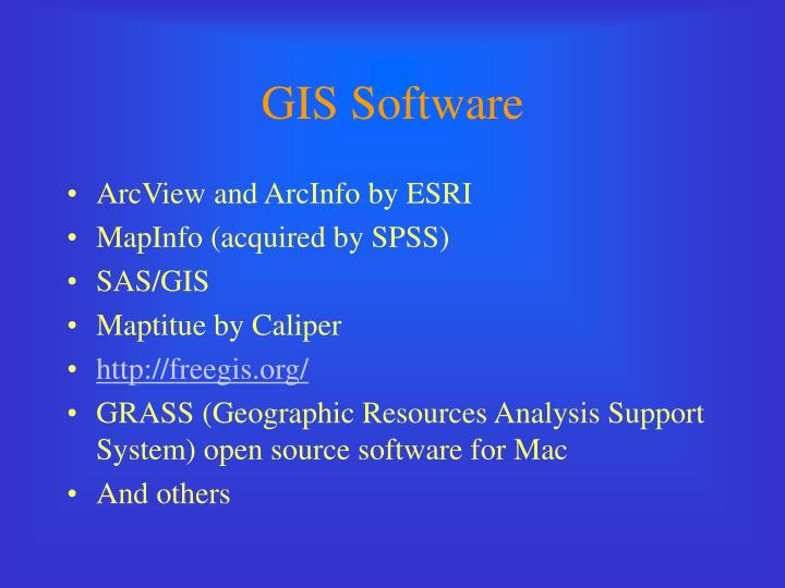 GIS Software