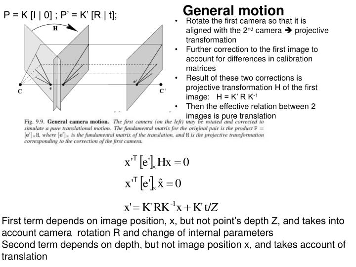 General motion