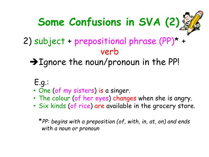 Some Confusions in SVA (2)