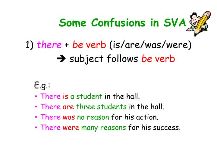 Some Confusions in SVA