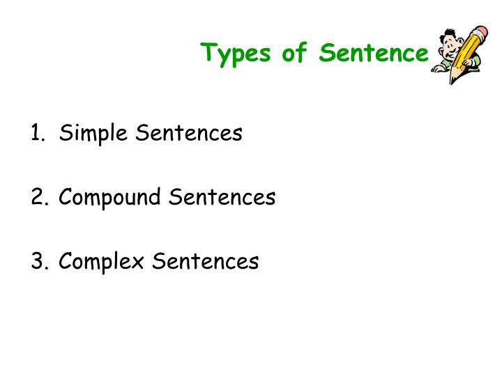 Types of Sentence
