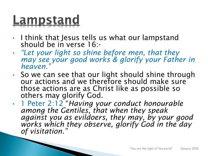Lampstand