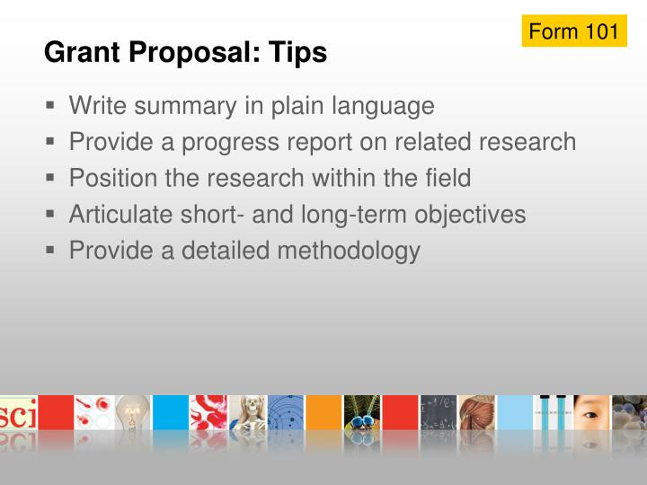 Grant Proposal: Tips