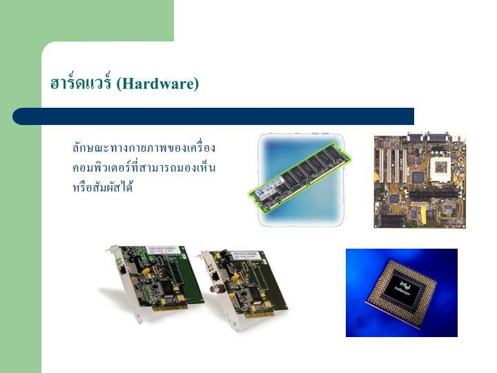 (Hardware)
