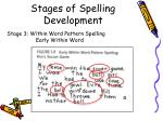 stages of spelling development3