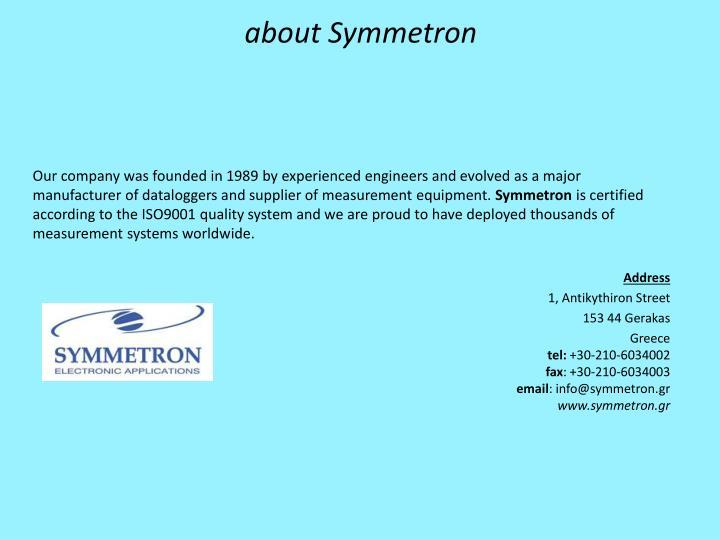 about Symmetron