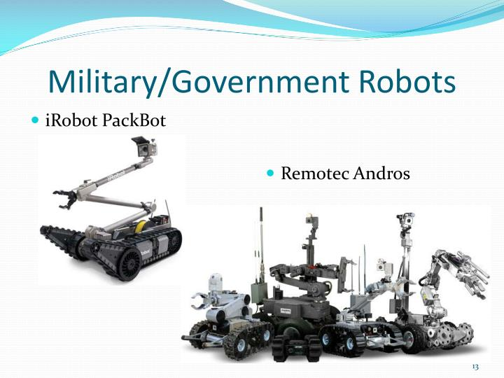 Military/Government Robots