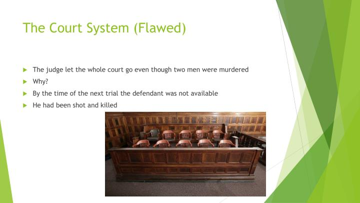 The Court System (Flawed)