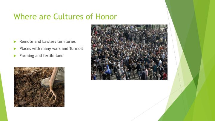Where are Cultures of Honor