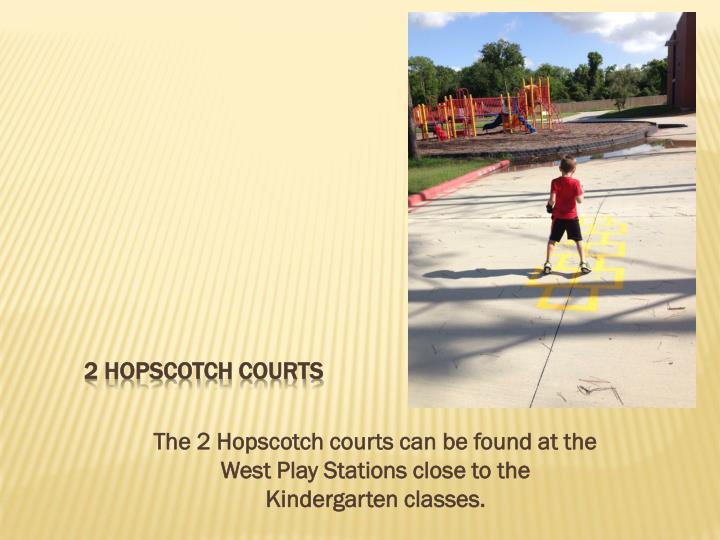 2 Hopscotch courts