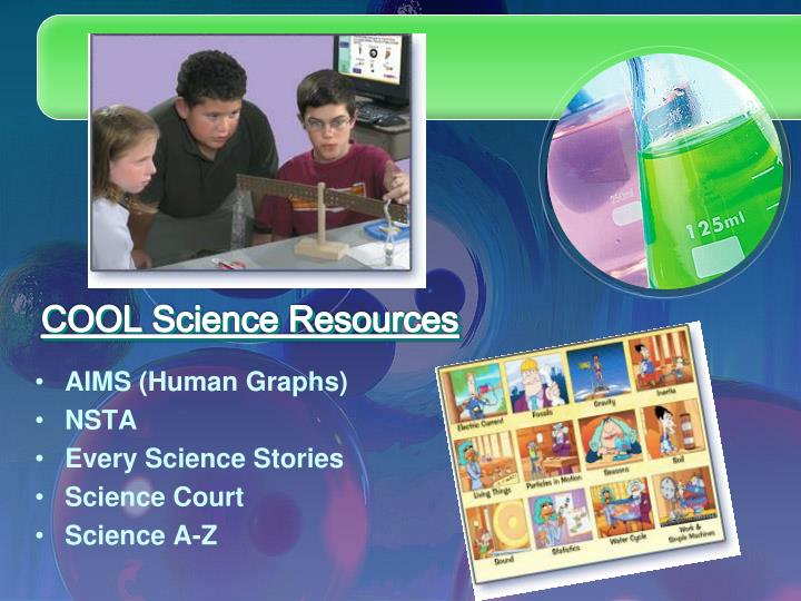 COOL Science Resources