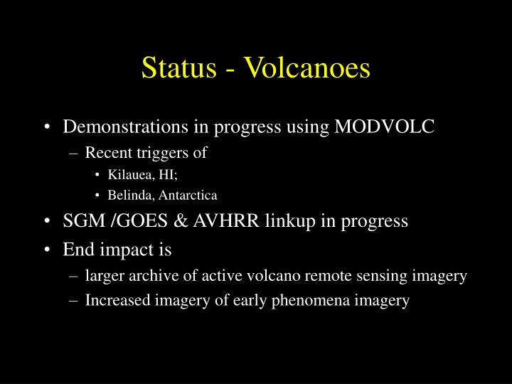Status - Volcanoes