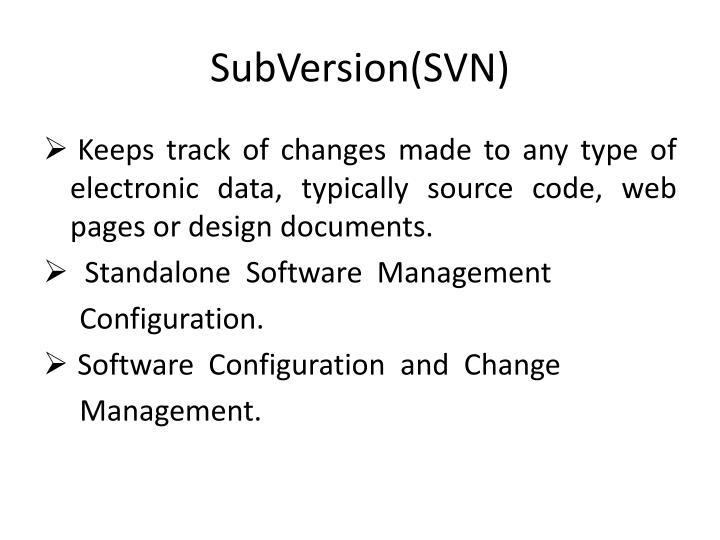 SubVersion(SVN)