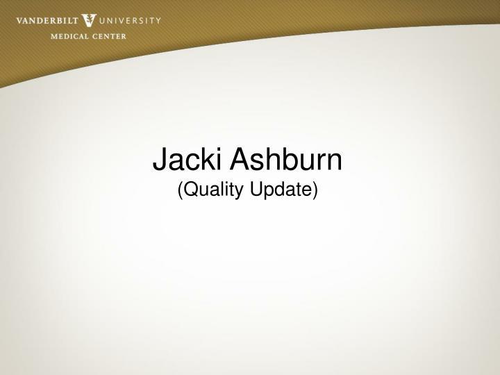 Jacki Ashburn
