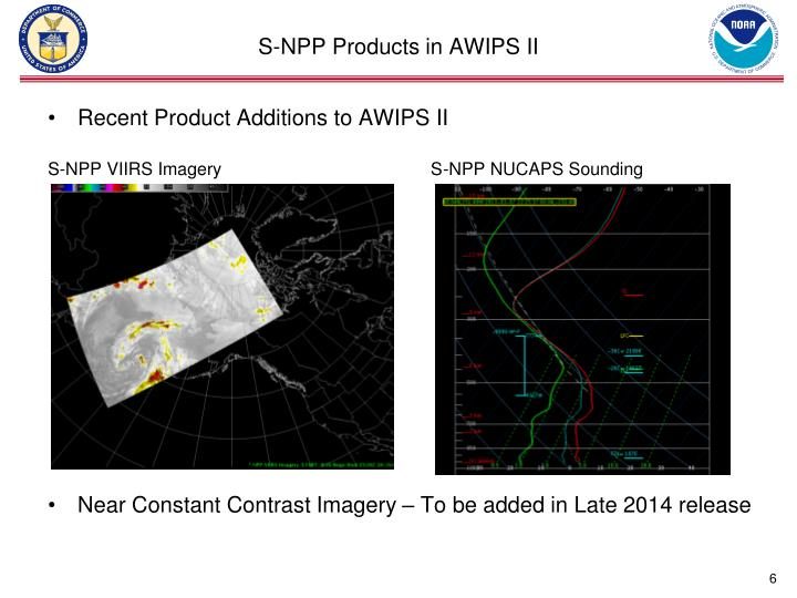 S-NPP Products in AWIPS II