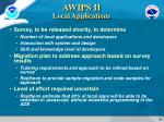 awips ii local applications