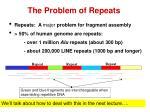 the problem of repeats
