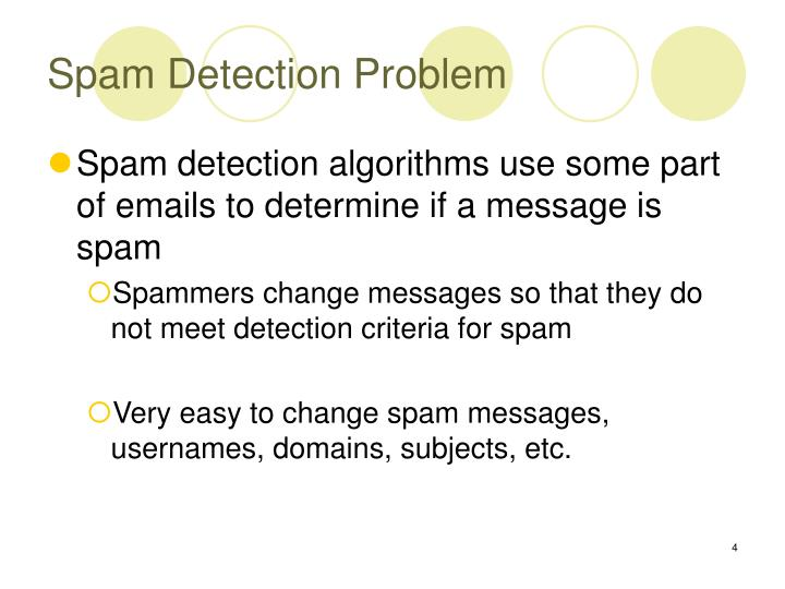 Spam Detection Problem