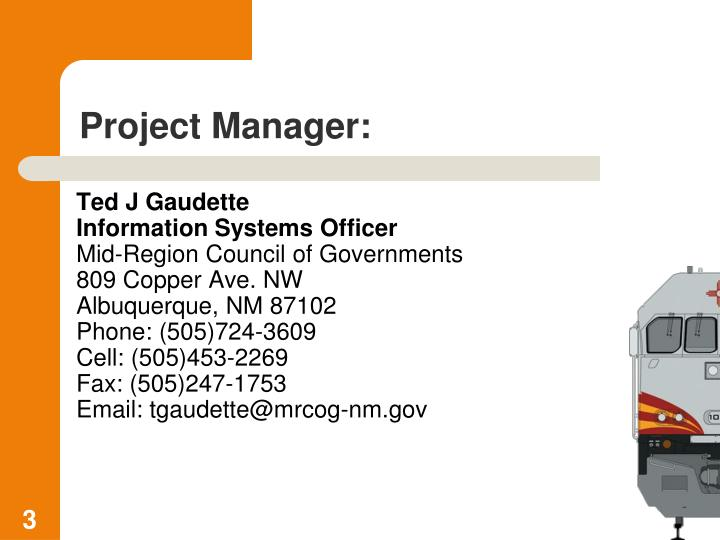 Project Manager: