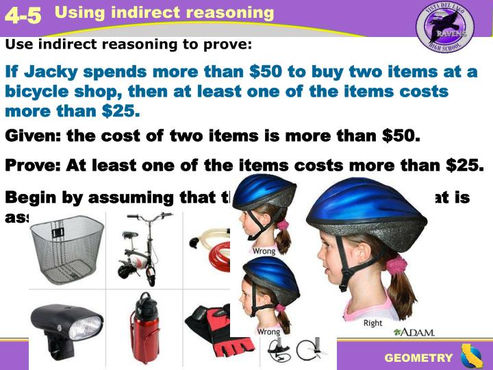 Use indirect reasoning to prove: