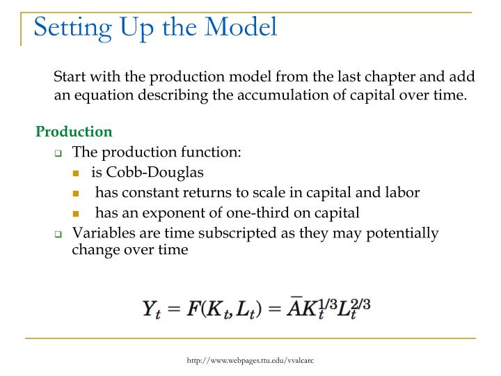 Setting Up the Model