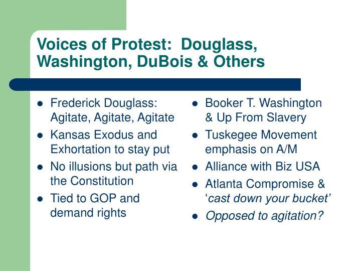 Frederick Douglass:  Agitate, Agitate, Agitate