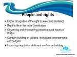 people and rights