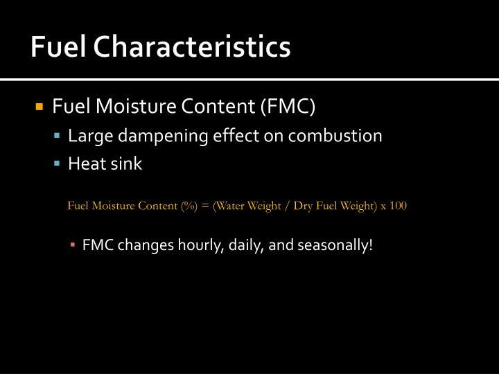 Fuel Characteristics