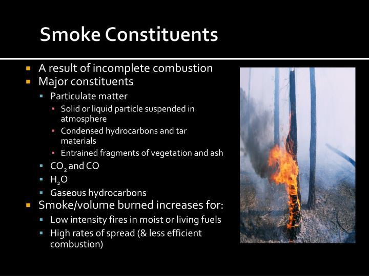 Smoke Constituents