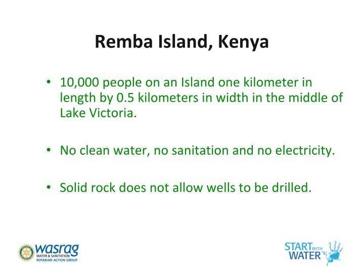 Remba Island, Kenya