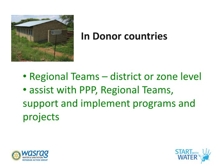 In Donor countries