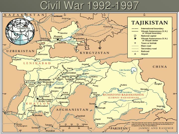 Civil War 1992-1997