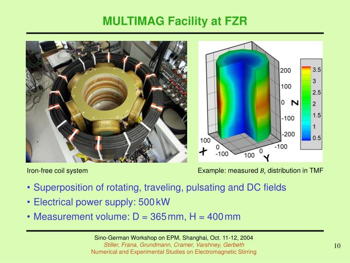 MULTIMAG Facility at FZR