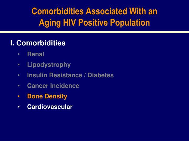 Comorbidities Associated With an