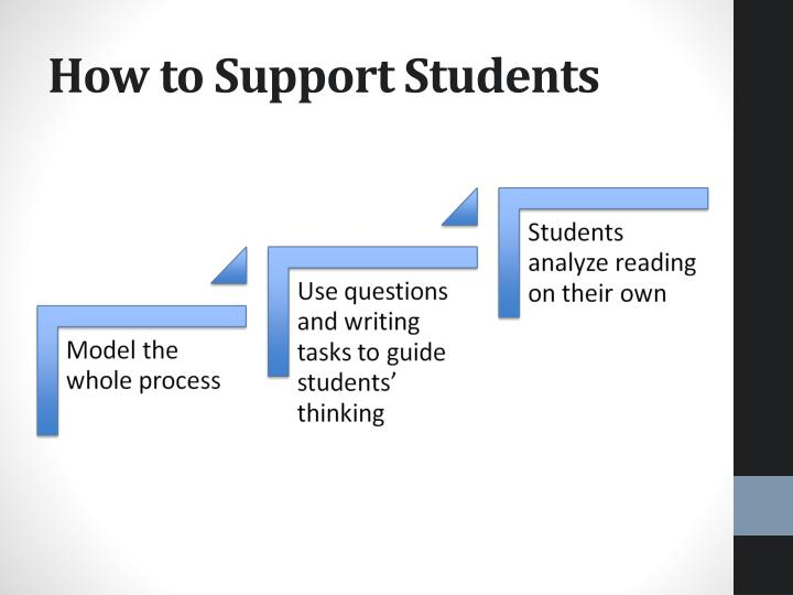 How to Support Students