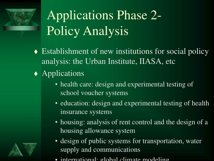 Applications Phase 2-