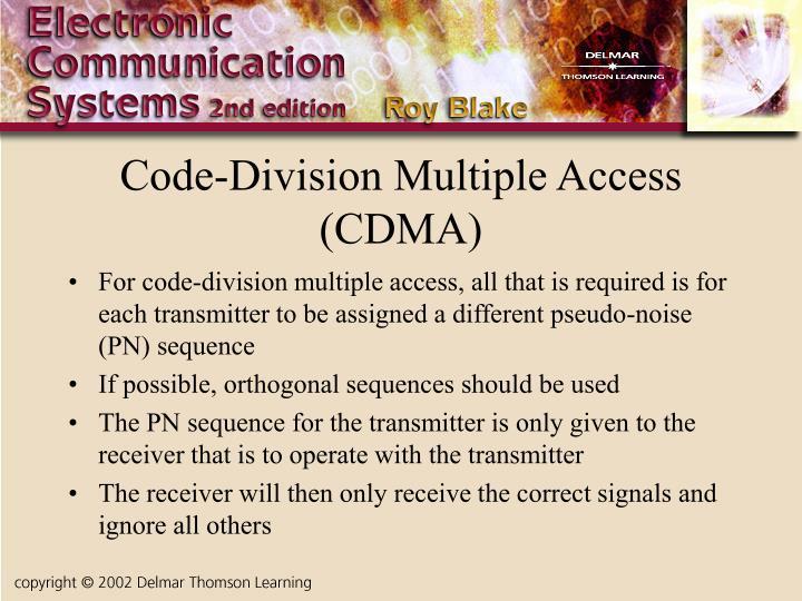 Code-Division Multiple Access (CDMA)