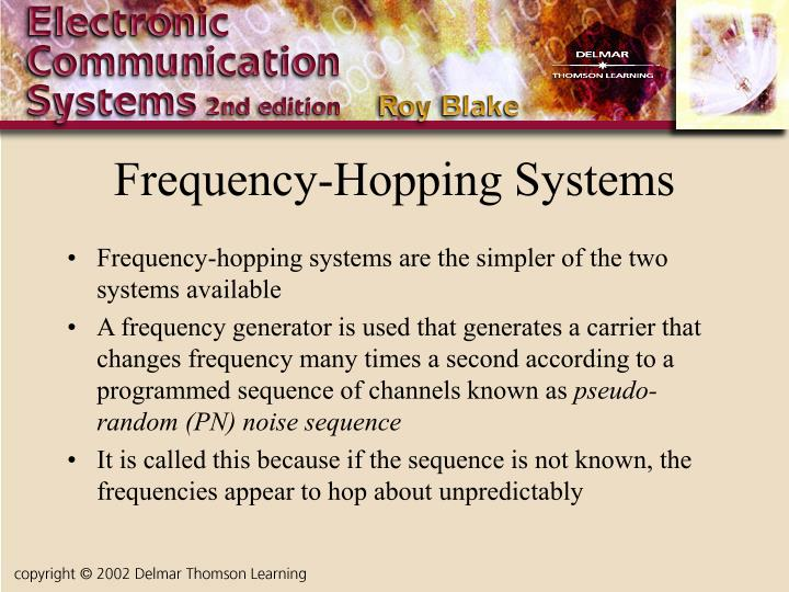 Frequency-Hopping Systems