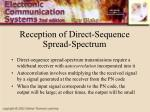 reception of direct sequence spread spectrum