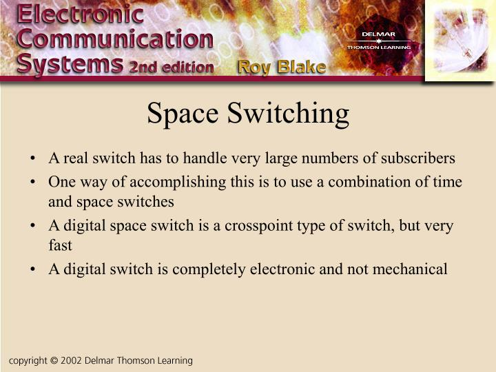 Space Switching