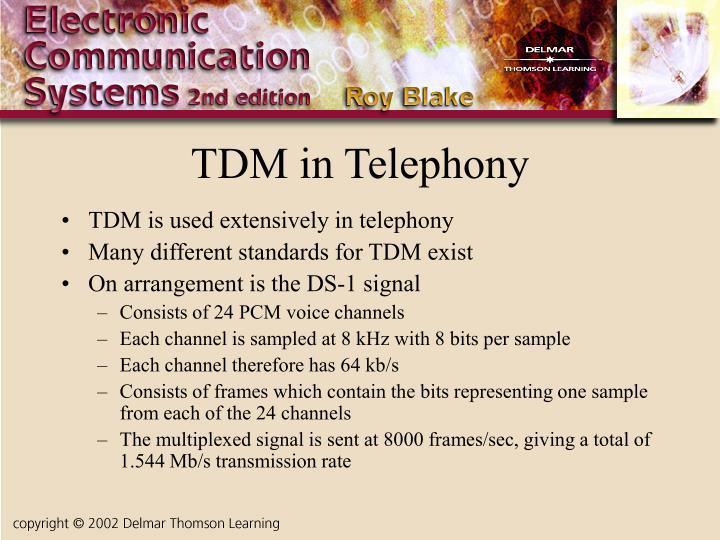 TDM in Telephony