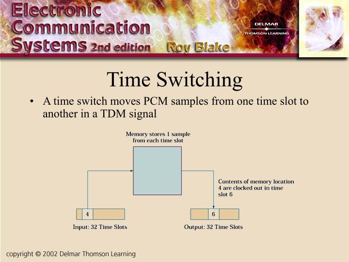 Time Switching