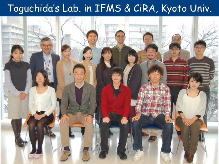 Toguchida's Lab. in IFMS & CiRA, Kyoto Univ.