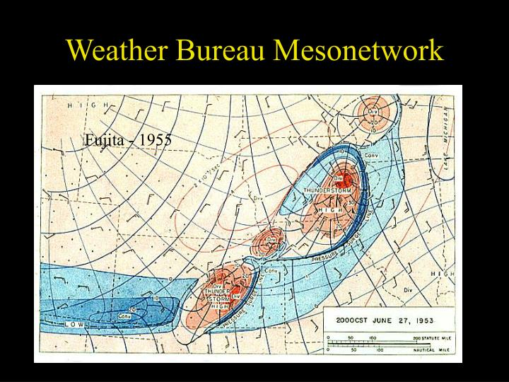 Weather Bureau Mesonetwork