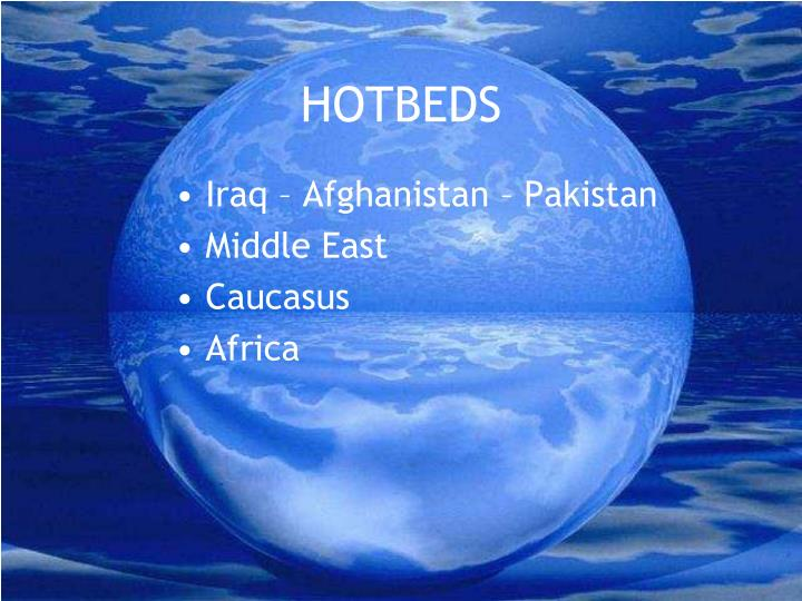 HOTBEDS