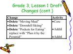 grade 3 lesson 1 draft changes cont2