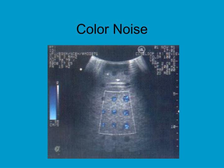 Color Noise